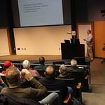 Dr. Shaffer presenting at faculty forum