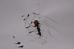 Gouache on a drill (naama.yanko) Tags: paint gouache drill