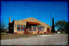 Burlington Route Abilene (Groovyal) Tags: train track texas rail tourist historic depot passanger baggage abilene burlingtonroute abilenetexas burlingtonrouteabilene
