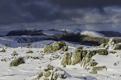 The north western fells from Bowfell 10/02/16 (moonsurf) Tags: mountains landscape nikon lakedistrict thelakedistrict d600 nikond600