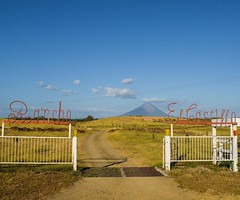 The Castle Ranch, where your view is a volcanic island (Volcán Concepción). #theworldwalk #travel #nicaragua
