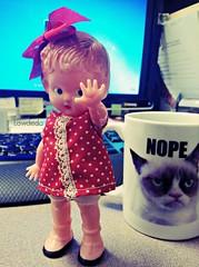 SSSSSTTTTTTOOOOOPPPPPPP!!!!!! (Lawdeda ) Tags: marilyn vintage doll dolly thursday nonsense knickerbocker picmonkey