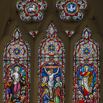 Linwood, St Cornelius, east window thumbnail