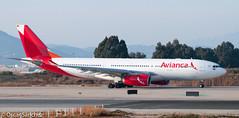 Avianca A330 ready to depart from BCN (Oscar Sánchez Photo) Tags: bcn airbus a330 spotting departing avianca 25l lebl