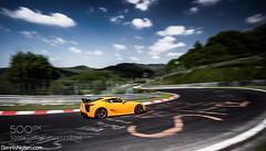 LFA. (ronenyard) Tags: speed photography action automotive panning lfa lexus nordschleife nurburgring 500px ifttt