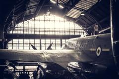 _DSC0951 (Just My Cuppa Tea) Tags: world two sun sunlight sunshine plane war shine bright hanger