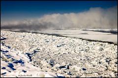 Fume de mer sur le fleuve / Sea smoke on St-Lawrence river (Jeanluc Verville) Tags: winter fog hiver brume