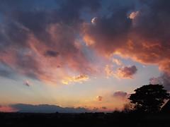 #6719 sunset and clouds (Nemo's great uncle) Tags: sunset  setagaya  setagayaku tky  seij  fujimibashi