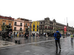 "Mexico City: le Zócalo (ou Plaza de la Constitución) <a style=""margin-left:10px; font-size:0.8em;"" href=""http://www.flickr.com/photos/127723101@N04/25003659343/"" target=""_blank"">@flickr</a>"