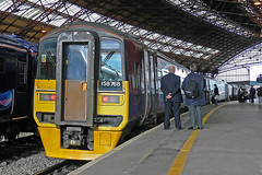 158768 at Bristol Temple Meads (Railpics_online) Tags: class158 diesel multipleunit sprinter firsttranspennineexpress bristol templemeads 158768 dmu dieselmultipleunit passenger train railway railcar uk express