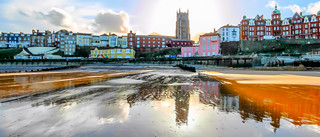 Reflections on Cromer Beach