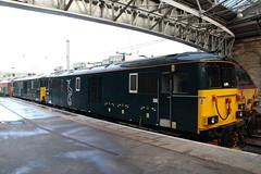 73967+73968 Edinburgh (Paul Emma) Tags: uk railroad train scotland edinburgh railway caledoniansleeper dieseltrain class73