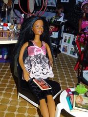 Barbie Makeover Studio (mydollfamily) Tags: barbie africanamerican hairsalon californiagirls fashiondoll mattel diorama myscene nailsalon wardrobestylist soinstyle makeupsalon barbiemakeoverstudio cosmeticssalon