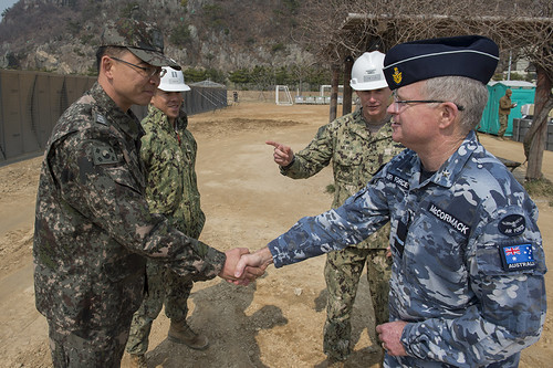Multinational Forces Conducting Exercise Foal Eagle in the Republic of Korea