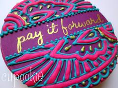 GOBO 2015 (cupookie) Tags: cookies gobo sugarcookies payitforward