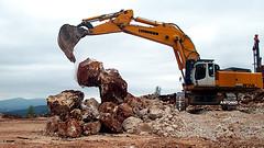 Liebherr 974C (Falippo) Tags: quarry cava digger excavator steinbruch earthmovers liebherr bagger baumaschinen escavatore ruspe ruspa escavatori movimentoterra 974c steinbrichmaschinen