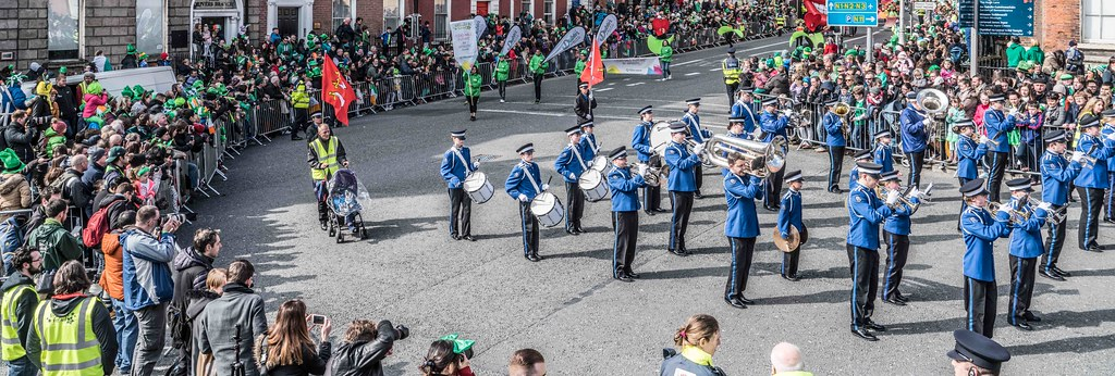 ESSEX MARCHING CORPS FROM THE UK [ST. PATRICK'S PARADE DUBLIN 2016]-112624