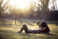loving someone deeply gives you courage (Syllhouette) Tags: sunset summer sun love nature sunshine yellow youth engagement spring support nikon marine couple bokeh christina military young indiana devotion understanding courage benge nikond800 christinabengephotography