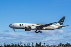 AP-BGL (11) (Christoffer Andersen) Tags: oslo airplane boeing pia osl b777 pakistaninternationalairlines b777200 b777200er passengerplanes osloairportgardermoen