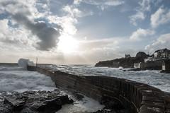 a different kind of day... (nosha) Tags: ocean uk sea beautiful beauty dark cornwall porthleven nosha