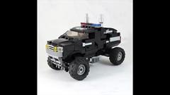 MRL-Police Jeep Mecha (LEGO 7) Tags: lego jeep police transformers mecha