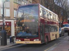 Abus YN57 FXJ (Welsh Bus 18) Tags: bristol olympus scania abus 848 eastlancs readingbuses n230ud yn57fxj