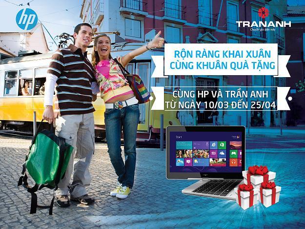 Trần Anh: Mua Laptop HP trúng ngay Iphone 6S