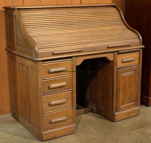 Oak Roll Top Desk - $330.00 (Sold August 28, 2015)