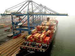 Port of Baltimore (StateMaryland) Tags: harbor ship commerce crane cargo container transportation shipping