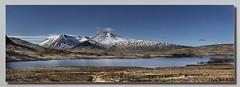 Black Mount Panorama (Bill McKenzie / bmphoto) Tags: mountain snow landscape scotland scenic best glencoe rannochmoor lochan blackmount lochannahachclaise