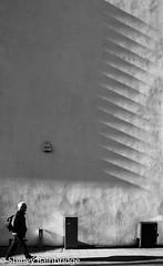Shadowland (The Neepster) Tags: monochrome sunshine shadows walker urmston oneman
