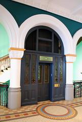 Aus855 - Elevator, Queen Victoria Building (Donna's View) Tags: nikon elevator sydney australia queenvictoriabuilding d60