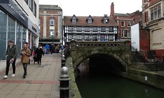 [40346] Lincoln : High Bridge (Budby) Tags: river lincolnshire lincoln witham waterway timbered