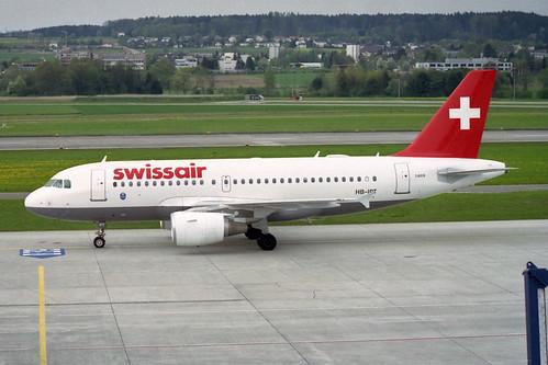 Swissair Airbus A319-112 HB-IP
