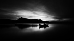 Sleeping Beauty (Eugenios X.) Tags: longexposure blackandwhite seascape greece sleepingbeauty poros nx300