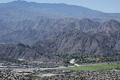 Aerial view of Point Happy, Whitewater River, and Santa Rosa Ranges, Coachella Valley, California (cocoi_m) Tags: california nature aerial coachellavalley geology laquinta palmdesert indianwells geomorphology aerialphotograph whitewaterriver coloradodesert riversidecounty pointhappy santarosaranges