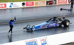Super Pro back-up girl (Fast an' Bulbous) Tags: car dragster fast speed power drag strip race track motorsport vehicle automobile santa pod england march spring nikon d7100 gimp outdoor worldcars