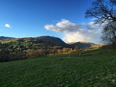 Green Countryside (Marc Sayce) Tags: park lake green countryside district national cumbria pike ambleside wansfell