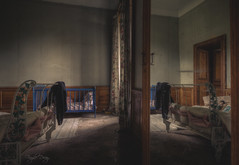 bedtime story (Fragile Decay) Tags: reflection abandoned home was mirror bedroom decay forbidden story forgotten bedtime once chateau fragile urbex
