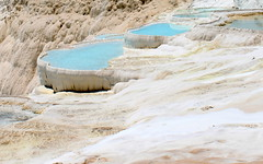 pamukkale springs (3) (kexi) Tags: blue white nature water canon turkey turquoise may springs pamukkale 2015 naturalpool instantfave