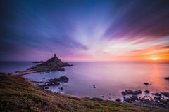 Sunset on la Parata (Maximecreative) Tags: longexposure sunset sea sky clouds evening rocks mediterranean corsica rocky wideangle motionblur f28 atmospheric archipelago les sanguinaires 14mm samyang leefilters bigstopper nd06hardgrad sw150