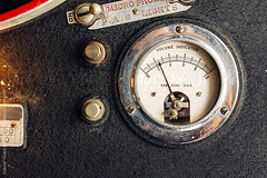 turn up your Volume (gabster_ro) Tags: old music analog vintage studio technology fromabove retro equipment nostalgia needle level 1950s sound instrument record electronic audio overhead recording obsolete oldfashioned volume stockphoto vumeter audiophile loudness stocksy recordcutter recordlathe