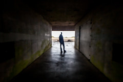 Only One Way Out (Thomas Hawk) Tags: california usa abandoned silhouette america unitedstates marin unitedstatesofamerica battery marincounty marinheadlands northbay fav10 militarydecay ivanmakarov