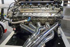 Muse de l'aventure Peugeot, Sochaux (Doubs, France) (Denis Trente-Huittessan) Tags: race motor endurance v10 prototypes moteur 24heuresdumans 35l alliage peugeot905
