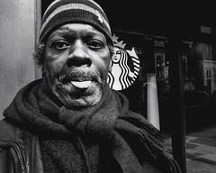 Chestnut Street, 2016 (Alan Barr) Tags: street portrait people blackandwhite bw philadelphia monochrome lumix mono blackwhite candid streetphotography panasonic sp streetphoto chestnutstreet 2016 gx8