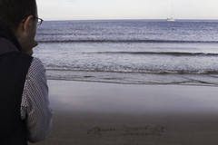 La mirada del fotgrafo (jlpezrecio) Tags: beach nature happy freedom playa almera cabodegata