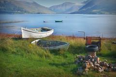 Boats at Ratagan.. (Harleynik Rides Again.) Tags: scotland glenelg lochduich letterfearn mamrataganpass harleynikridesagain