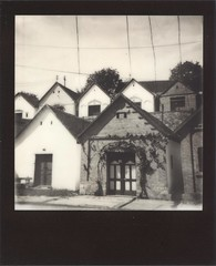 Villnykvesd (lengvari) Tags: bw film project polaroid wire hungary winery af impossible impulse villnykvesd