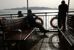 crossing Bosphorus. (Echo of Life) Tags: turkey istanbul bosphorus