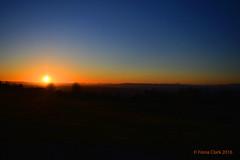 Sun Setting (FionaClarkPhotography) Tags: blue sunset orange sun nature dark photography nikon photographer favourite sunsetting d3200 fionaclarkphotography